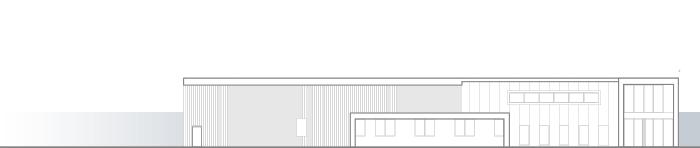 Nouveau bâtiment Megret & Fils, matériel pour la couture industrielle