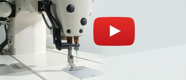vidéo couture industrielle, machines à coudre artisanales et industrielles