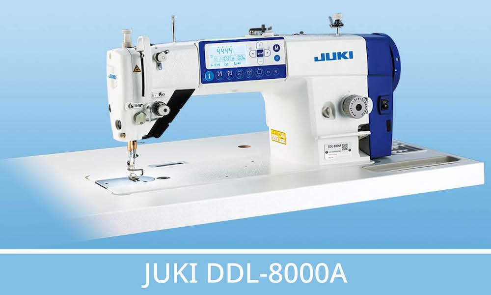 Visuel actualité Focus sur la JUKI DDL-8000A