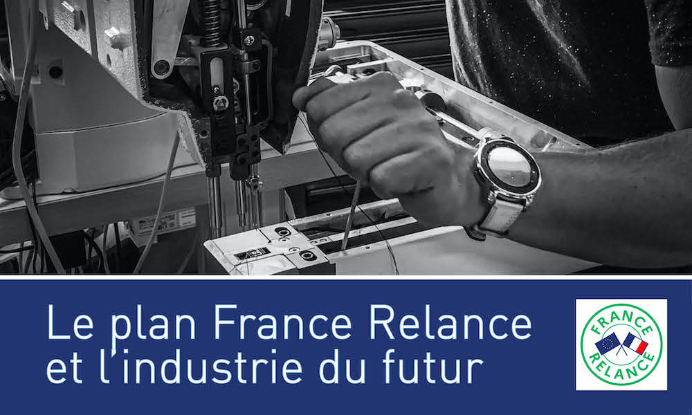 Visuel actualité France Relance et industrie du futur