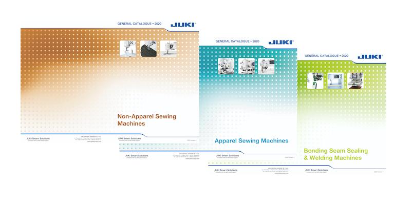 Visuel actualité Consultez les catalogues JUKI