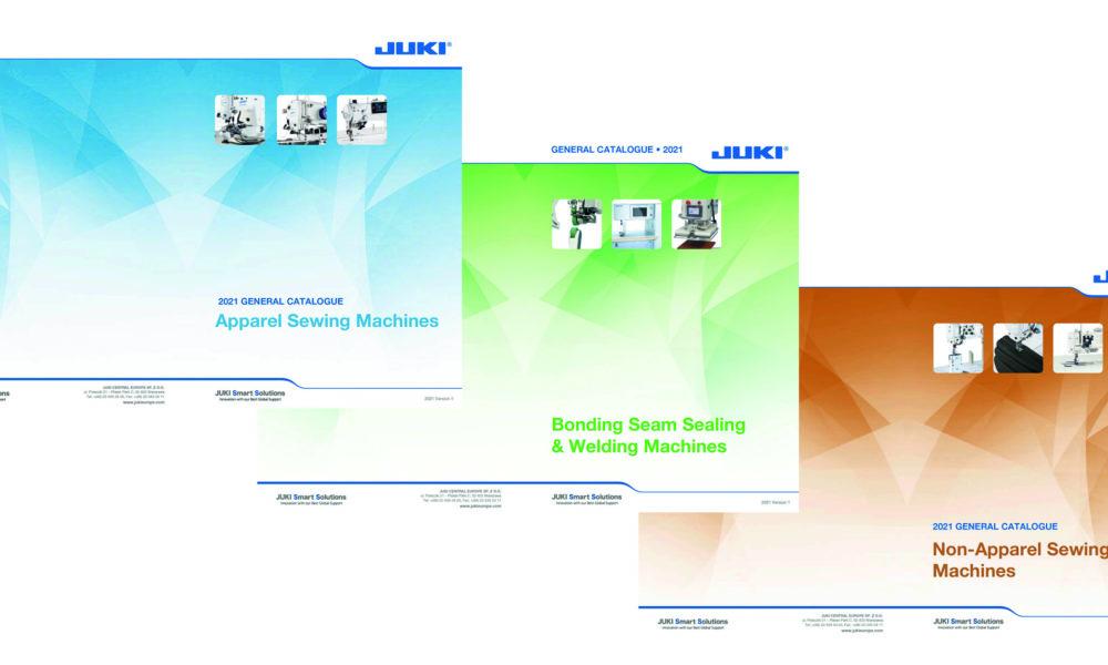 Visuel actualité Consultez les catalogues JUKI 2021