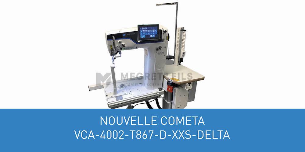 Visuel actualité Nouveauté COMETA VCA-4002-T867-D-XXS-DELTA